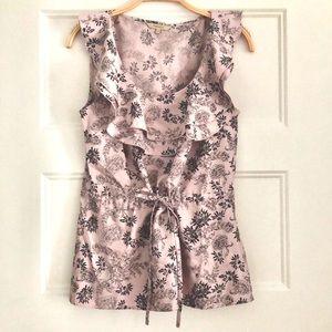 🆕❤️2/$30❤️RW & CO Floral Cap Sleeve Blouse